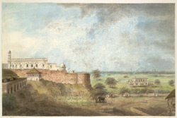 The palace at Farrukhabad